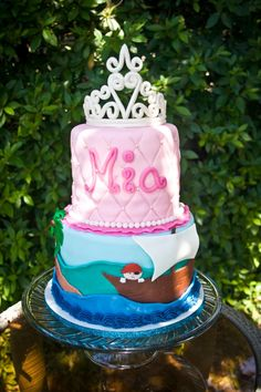 Princess Pirate cake