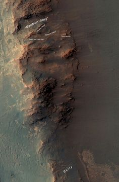 Marathon valley -- Mars