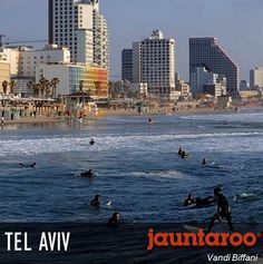 Tel Aviv's markets are a cultural experience all their own and the malls are literally everywhere. After all, Israel has the most shopping malls per square mile of anywhere in the world. Is this your perfect vacation match? Visit www.jauntaroo.com to find out and learn more!