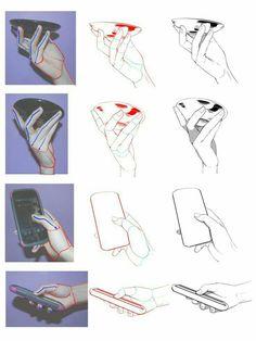 Anatomy Sketches, Anatomy Drawing, Anatomy Art, Art Drawings Sketches, Hand Drawings, Digital Painting Tutorials, Digital Art Tutorial, Art Tutorials, Hand Drawing Reference