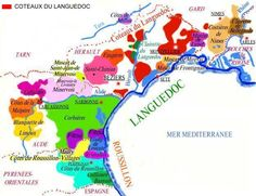 Wine regions of the South of France