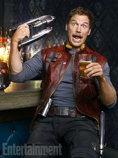Guardians of the Galaxy, Chris Pratt | ''My brother, he's always been my cheering section. After Moneyball , he was like 'Dude, you look f--...
