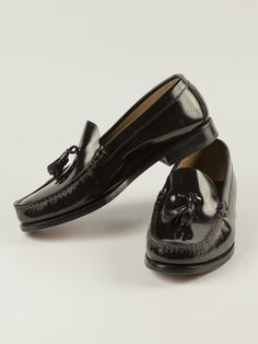 d833b52328290 Peter Christian Tasselled Loafer in Black - Not so much a shoe as style  icon.