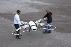 One of the larger multirotors on the market and perhaps the coolest looking! The eight rotors mean it will keep flying if one fails and be home in time for tea and medals. I predict many copy cat smaller versions. Oh and several flying spider headlines in the next couple of days. Based in Slovenia … … Continue reading →