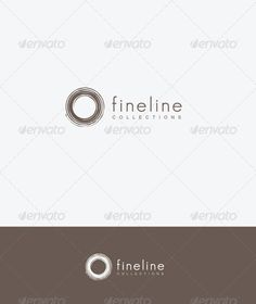 Elegant logo circle for your fashion company,business,product or website.  #logo #product #website • Available here → http://graphicriver.net/item/fineline-collections/620189?s_rank=1050&ref=pxcr