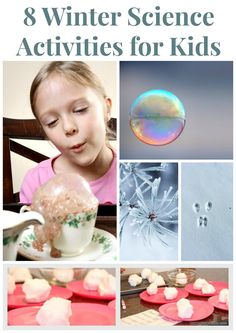 8 winter science activities for kids #homeschooling #homeschool