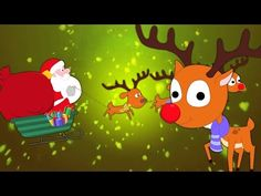 Rudolph la renna dal naso rosso | canzoni di Natale | video bambini | Rudolf The Red nosed Reindeer - YouTube