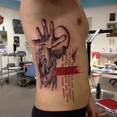 Tattoo by Simone Pfaff and Volko Merschky of Buena Vista Tattoo Club