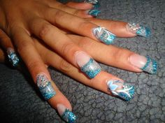 Quinceañera Nails - Nails Art photos, nail art design. List 2015 Quinceañera Nails stylist photos