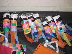 Dancing Commas | VBS Everywhere Fun Fair crafts... Japanese carp kites similar to those of Japan's Children's Day