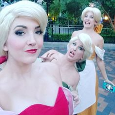 Love these girls and had so much fun yesterday with them at Mickey's Halloween Party. #bimbettes #beautyandthebeast #Disneyland #mickeysnotsoscaryhalloweenparty #mickeyshalloweenparty #blonde #Blondie #blondshavemorefun #triplets #notrapunzel #notcinderella #notthestepsisters #red #green #yellow #funny #silly #beautiful #halloweentime #Halloween #trickortreat #photoshoot #picoftheday #instagood #ootd #muotd #fantasyland #fantasylandtheatre