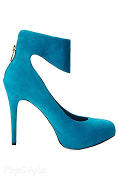 Jessica Simpson Nwing Suede Leather Pump
