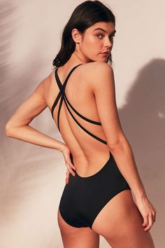 1dfb605f51 Out From Under Surplice One-Piece Swimsuit - Urban Outfitters Urban  Outfitters