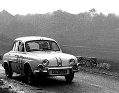 1962 Tour de Corse: Pierre Orsini, winner, Renault Dauphine Gordini