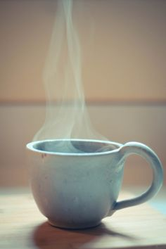 Coffee!!!!! And quiet time!
