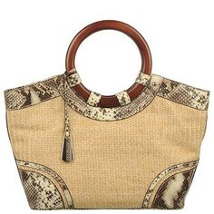 Naturalizer Signal 1 straw handbag