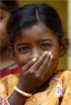Girl from Kerala, India.