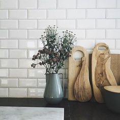 The Neu pitcher is inspired by Bauhaus classics, using strictly geometric shapes. Why not use this fantastic pitcher as a decorative vase in your home? The Neu pitcher is a must have for any home and available in a smaller size. #fermliving #neupitcher #neustoneware #stoneware #danishdesign #cheramics #regram @boligcious