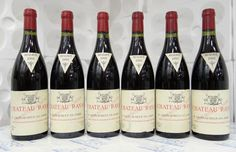 Château Rayas - 12 French Wines to Try Before You Die Chateauneuf Du Pape, French Wine, Bacchus, Rhone, Red Wine, Alcoholic Drinks, Entertaining, Bottle, Food