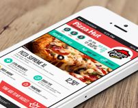 Yemeksepeti / Food Delivery App. Redesign