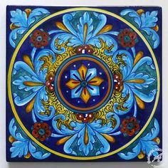 Hand Painted Italian Tile 05, Backsplash, Wall – thatsArte.com