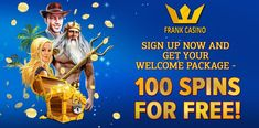 Frank Casino New Bonuses Sports Picks, Best Casino, Online Casino Bonus, Sports Betting, Back In The Day, The 100, 100 Free, In This Moment, Sign
