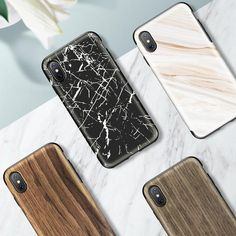 Wood Grain/Marble Texture Cover Case for iPhone X Awesome iPhone 10 iPhone X Apple Products link website cases awesome products shops store buy for sale website online shopping free shipping accessories  phone covers beautiful gifts ideas Mens Womens Buy  http://iphonexfree.net/23393/