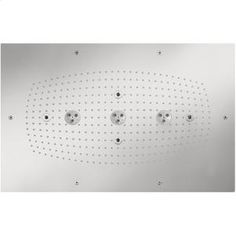 28417001 in Chrome by Hansgrohe in New York City, NY - Chrome Raindance Imperial Square AIR Showerhead Trim