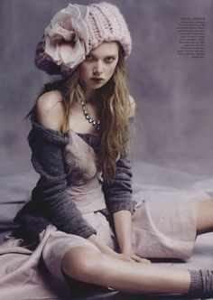 Holly Rose by Nicole Bentley for Vogue Australia August 2013