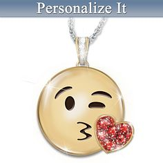 A Message Of Love Pendant Necklace