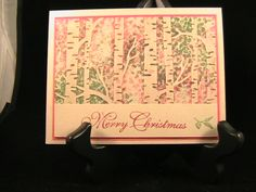 Christmas Forest - Stamp Class 11/15