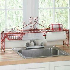 Organizando a cozinha com charme...