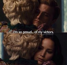 Unexpectedly, it wasn't Mags or Wiress or even the man in District 11 who made me lose it. It was Effie. Effie, finding out that her victors escaped death once and had to try to do it again. She may seem a bit ridiculous sometimes, but man… she loves them. *sob* <3