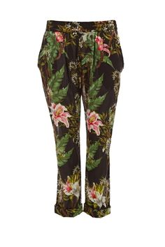 Wilford Print Cotton Trousers