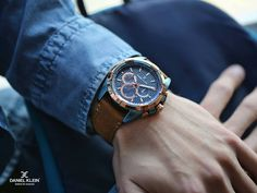 The all New DANIEL KLEIN Collection speaks of vintage class with the perfect blend of accurate timekeeping for the Modern Men. Watches Photography, Beauty Photography, Fashion Photography, Trendy Watches, Watches For Men, Fashion Videos, Fashion Pictures, Daniel Klein, Beauty Hacks Nails