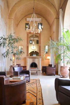 Lounge @Hotel Les Deux Tours Marrakech Picture by Studio OINK