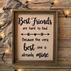 Best Friends Are Hard To Find, Best Friends Quote, Best Friends SVG, Printable Quote, Printable SVG Quote, SVG Files, Cricut, Silhouette