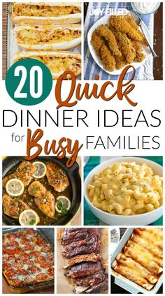 Quick Easy Dinner, Quick Dinner Recipes, Quick Easy Meals, Simple Meals For Dinner, Quick Weeknight Dinners, Quick Cheap Dinner Ideas, Kids Dinner Ideas Healthy, Weekday Dinner Ideas, Summer Meal Ideas