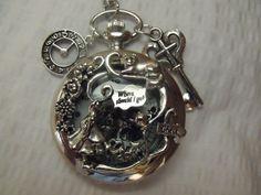 Keepsake Alice in Wonderland Drink Me  Pocket Watch by AGothShop, $42.50