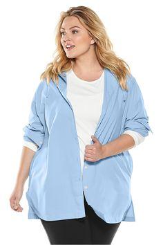 6d59da113a871 Beach Shirt Blue Harbor 3XL Solid Sun Protective Clothing