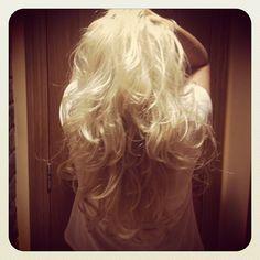 New Hair !!! #allmine #wavyhair #bighair