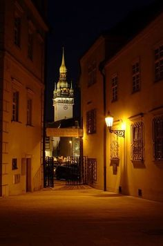 Brno - Old Cily Hall (South Moravia), Czechia Central Europe, Old City, Macedonia, Albania, Eastern Europe, Capital City, Slovenia, Czech Republic, Prague