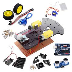 Arduino 2WD Ultrasonic Smart Car Kits