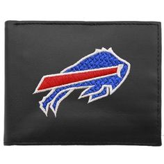 Buffalo Bills Embroidered Bifold Wallet by Rico. $29.39. Genuine Leather Billfold Wallet With Detailed Team Logo Embroidery. Officially Licensed.. Save 16% Off!