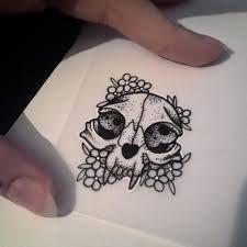 Resultado de imagen para cat skull tattoo