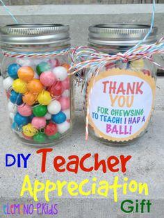 Teacher Appreciation Gift! #DIY #Teacher
