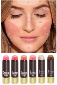 100% Brand and high quality!!! The best contouring makeup for a natural look…