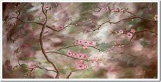 cherry blossom adrienne harrington http://www.artpromotivate.com/2012/12/adrienne-harrington-its-never-too-late.html