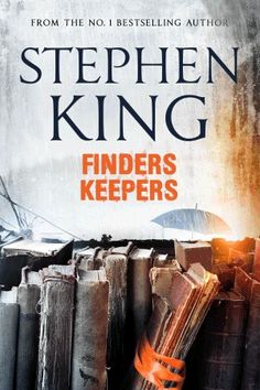 The animated cover of Finders Keepers by Stephen King