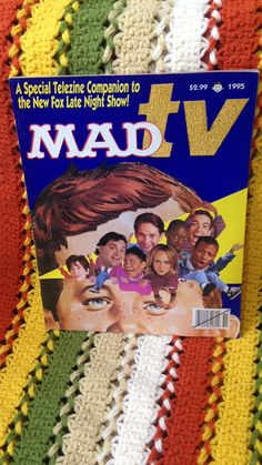 Free shipping in the US/1995 collector  Mad TV #madtv #zine #telezine #90s #books #comics